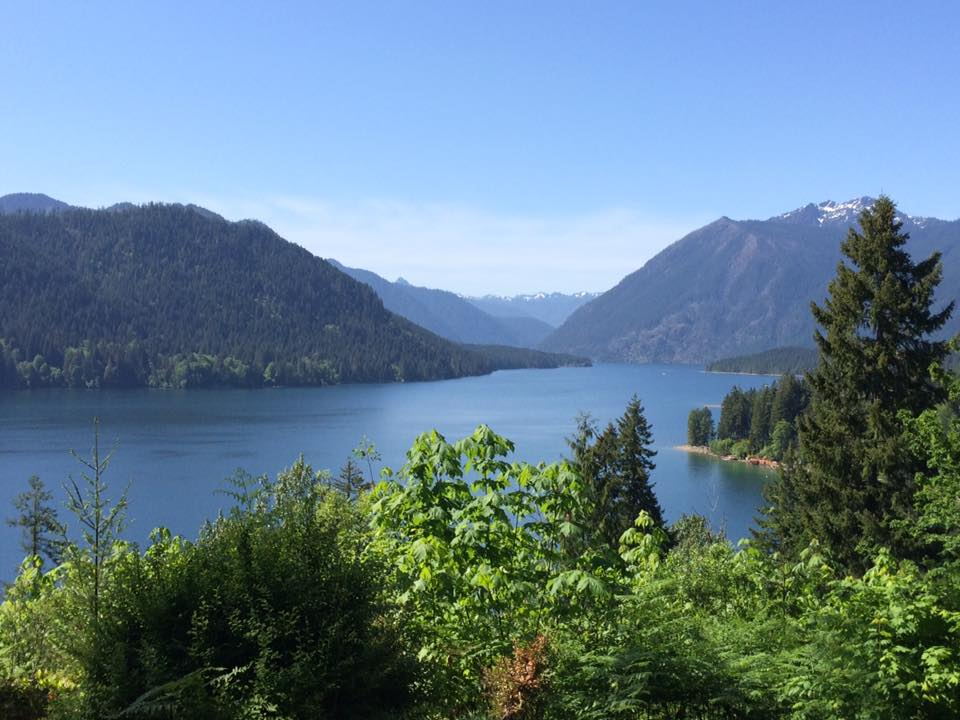 Another view of Lake Cushman. Photo by Jan Acuff